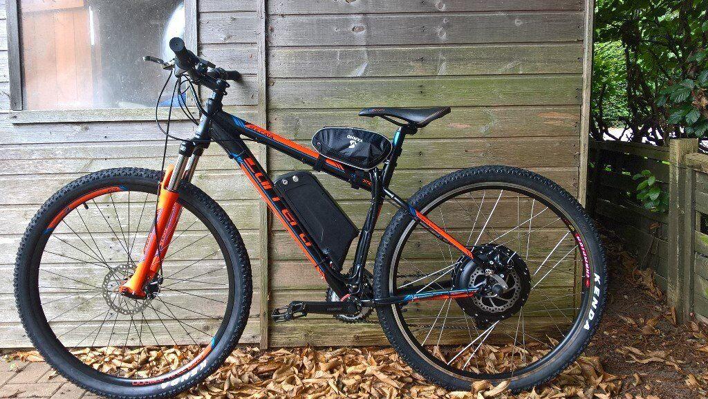 carrera sulcata electric bike 1000 watt in stoke on. Black Bedroom Furniture Sets. Home Design Ideas