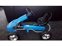 Childrens pedal go kart