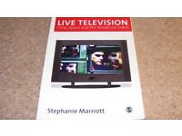 Live Television: Time, Space and the Broadcast Event (Media Culture & Society Series) Paperback –
