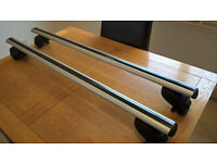 BMW 3 Series Touring Atera Signo aluminium roof bars for closed/solid roof rails