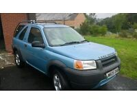 rebuilt freelander with warranty from landrover engineer reduced price