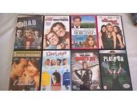 DVD films comedy,horror,drama,animation