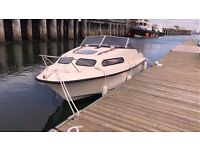 Shetland 570 leisure/fishing boat - refurbished and serviced