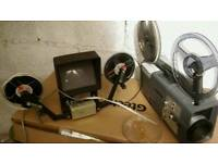 Cine projector and cutter/viewer
