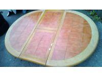 Farmhouse Family Kitchen Table extendable