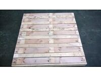 Pallet Decking From Reclaimed Timber