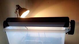 UV strip lamp for terranium or aquarium