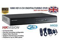 8 Channel DVR digital 1080 HD