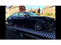 Unrecorded damage Mercedes