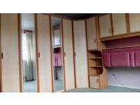 Large wardrobe with headboard/side tables