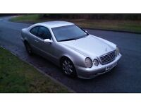 Mercedes CLK 230 SPARES OR REPAIR