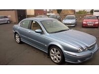 STUNNING JAGUAR X TYPE DIESEL 2005 MANUAL FULLY LOADED CHEAPER PX WELCOME