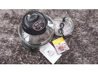 Halogen Oven by Shef - Digital temperature and timer controls 1400 watts - Brand New
