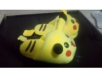 Pokemon slippers size 4_5 adult size