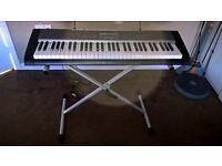 electric keyboard & stand