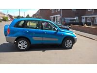 Neat Rav4, long M.O.T, recently serviced, lady owner, drives smooth.