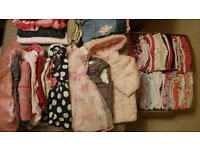 Big bundle of girl's clothes 9-12 (+some 3-6, 6-9)