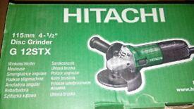 Angle grinder 115mm.
