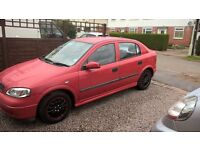 Vauxhall Astra 1.4l cheap to run moted