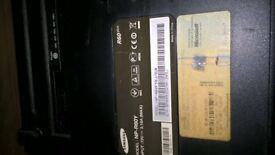 Samsung laptop model NP R6OY