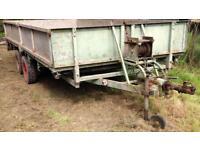 14 x 6ft 4 wheel trailer