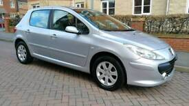 2006 Facelift Peugeot 307 1.6 HDi S 5dr In great condition. Hpi Clear