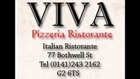 PIZZA CHEF REQUIRED FOR BUSY CITY CENTRE ITALIAN RESTAURANT