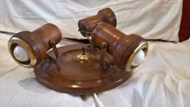 Wooden spotlight cluster - open to offers