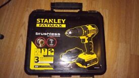 Stanley FatMax brushless drill