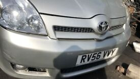 2006 TOYOTA COROLLA VERSO T3 D-4D (MANUAL DIESEL)
