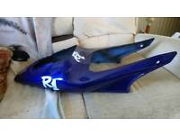 R1 5jj rear seat cowl in blue