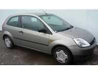 FORD FIESTA 2004 04 PLATE MOT JUNE 2018 3 DOOR HATCHBACK