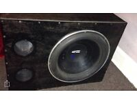 "Re audio 18"" subwoofer"