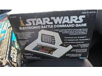 vintage 1979 star wars battle command electronic game in original box