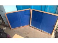 Reclaimed Nobo Glass Front Display Cabinet
