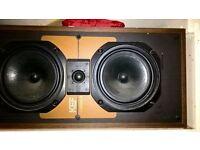 old loud KEF speakers