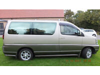 Nissan Elgrand 3.0 TD Auto with O/D, AWD, 7 seats, 98000 miles, full MOT. Private plate inc.