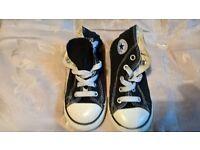 Kid's Converse Size UK 9 - Black