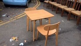modus plc table and chairs