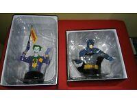 BATMAN & THE JOKER EAGLEMOSS BUSTS - DC Comics