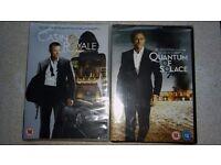 New James Bond DVD's