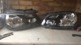 Vw caddy 2015 headlights