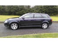 PRICE DROPPED AUDI A4 AVANT ESTATE 1.9 TDI DIESEL FULL YEAR MOT IN EXCELLENT CONDITION