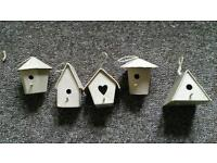 Mini bird houses for craft 45 house all together