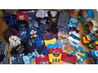 Baby boy bundle clothes 18-24 months (49 items): McKenzie, Adidas, GAP, Ted Baker, Next, M&S :)