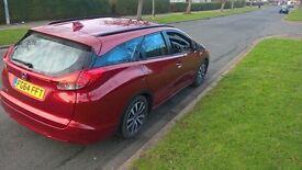 Honda Civic 1.6D 2014 64 reg. Tourer