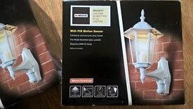 homebase security lights x 3