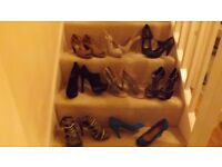 Selection of women's shoes.
