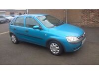 VAUXHALL CORSA 53 REG RELIABLE CAR FULL SERVICE HISTORY LONG MOT PX WELCOME