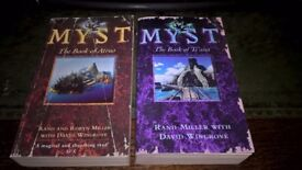 MYST - 1st 2 books: The Book of Atrus AND The Book of Ti'ana ** Very Good **